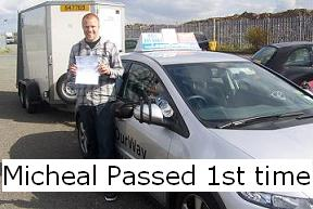 Micheal passed