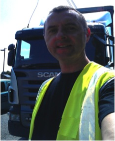 Hgv driver & CPC trainer Paul Spencer